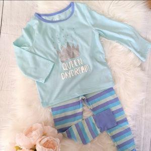 3T OshKosh Queen Pajama Set